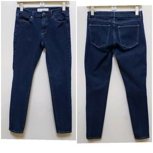 Gap 1969 True Skinny Ankle Mid Rise Jeans